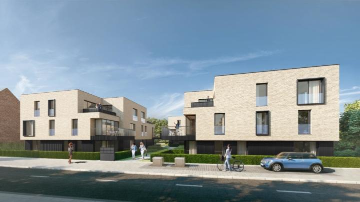 Nieuwbouw appartementen Rotselaar Wezemaal